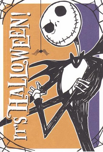 Nightmare Before Christmas Halloween Cards Hallowen