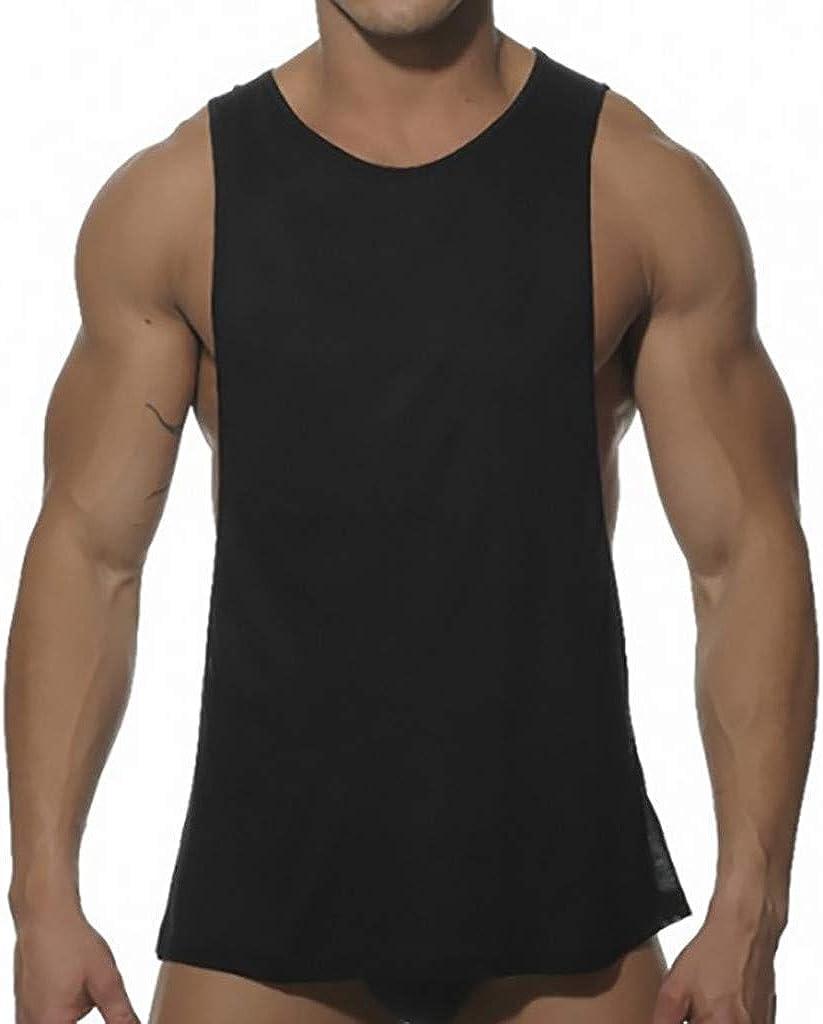 Brand New Muscle Gym Drop Armhole Tank Top Cotton Summer Wear Vest 2019
