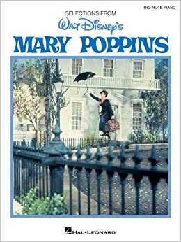 Big Note Vocal Selections: Mary Poppins