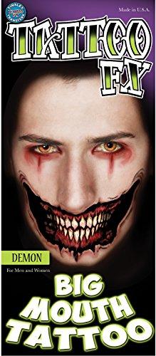 Tinsley Transfers Demon Big Mouth Temporary FX -