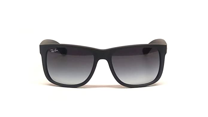 Ray-Ban Justin RB 4165 601/8G Sonnenbrille in rubber black 55/16 9OcNac8h