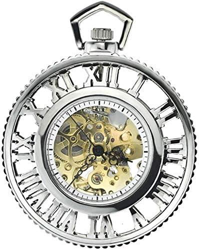 懐中時計レトロノスタルジア、第2の要素、色の名前を取り巻くローマ式スチーム機械ギア自動機械式時計アニメ:2 (Color : 1)