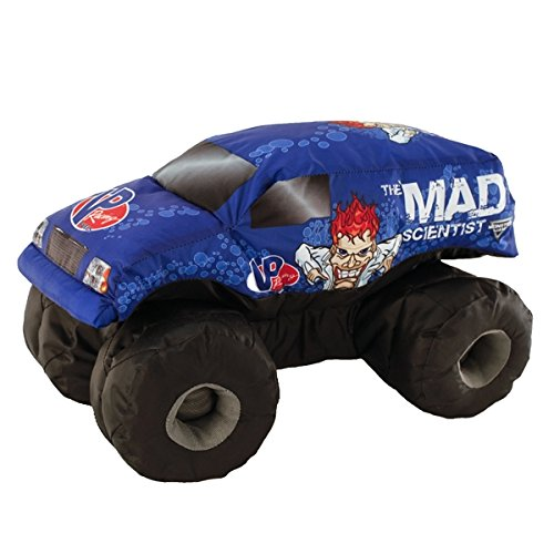 Monster Jam Mad Scientist Plush Truck (Mad Truck)