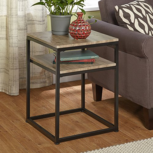 End Table Living Room Contemporary Modern Home Decor Side Ac