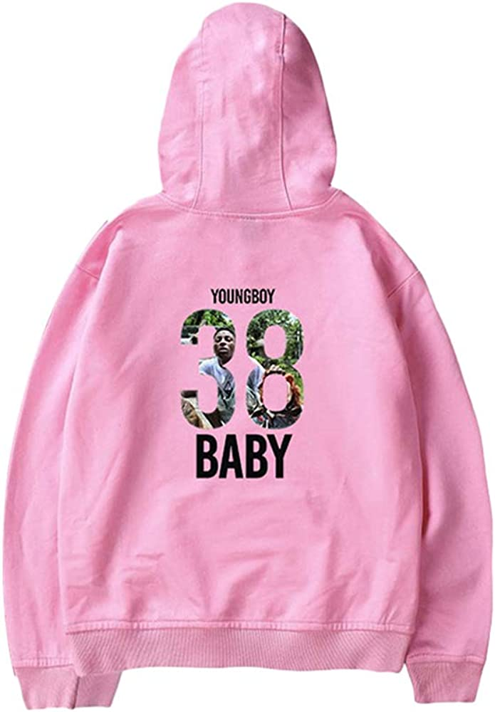 YoungBoy Never Broke Again-Long Sleeve Hoodie Sweatshirt Hip Hop Unisex Hoodie