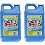 Darice 1021-13 Miracle Bubbles Solution Refill, 64-Ounce Bottle Colors May Vary (2 Pack)
