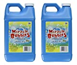 Darice 1021-13 Miracle Bubbles Solution Refill, 64-Ounce Bottle Colors May Vary (2 Pack).