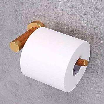 Total papel madera porta papel higiénico titular papel toalla toallero: Amazon.es: Hogar