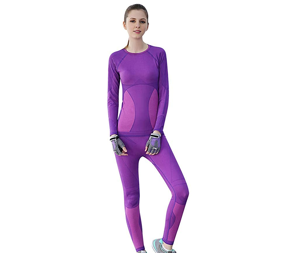 Women Winter Stretch Thermal Underwear Winter Quick Dry Anti-Microbial Thermo Underwear Sets Brand 2018/2019