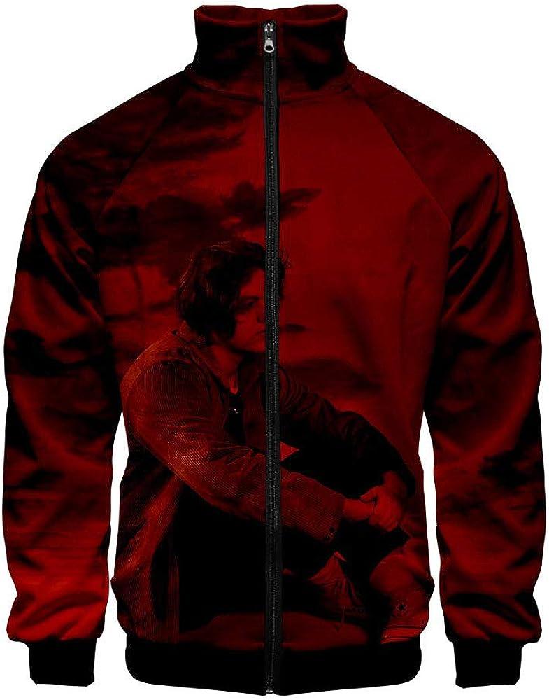 FUREIN Singer Lewis Capaldi 3D Print Sweatshirt Men and Women Casual Sports Baseball Uniform Jacket
