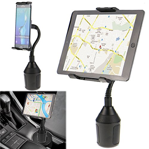 Adjustable Car Cup Holder Mount for Apple iPad Mini Samsung Galaxy 7