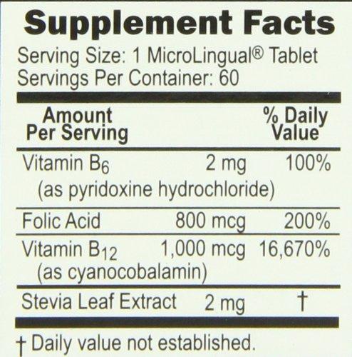 Amazon.com: Superior Source B12/B6 /Folic Acid Multivitamin, 1000 mcg/2 mg/800  mcg, 60 Count: Health & Personal Care