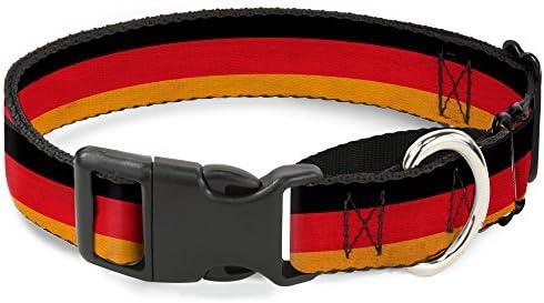 Buckle Down Collar para Perro con diseño de Bandera de Alemania ...