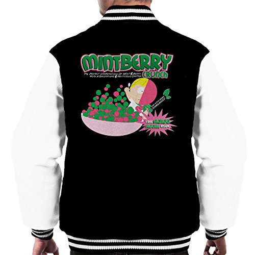 Park white Crunch South Men's Mintberry Black Varsity Jacket qw17dP0n7