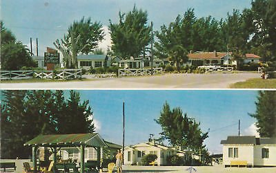 - F1102 FL, Madeira Beach Brewers Cottage Colony Postcard