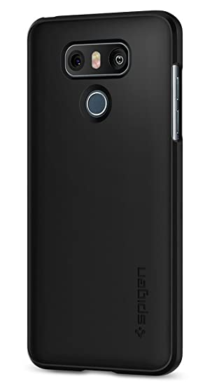 more photos cb2e1 37038 Spigen Thin Fit Designed for LG G6 Case (2017) / Designed for G6 Plus Case  (2017) - Black