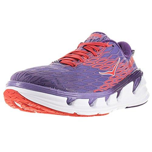 Hoka One One Womens Vanquish 2 Road Running Shoe,Corsican Blue/Poppy Red,US 11 by Hoka One (Image #4)