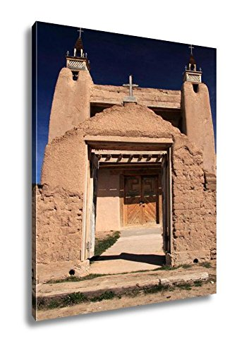 Ashley Canvas San Jose De Gracia Catholic Church In Las Trampas Along The High Road To Taos, Kitchen Bedroom Living Room Art, Color 30x24, AG6533314 by Ashley Canvas