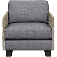 Artum Hill UP8-552 Kensington Accent Chair, Slate Gray