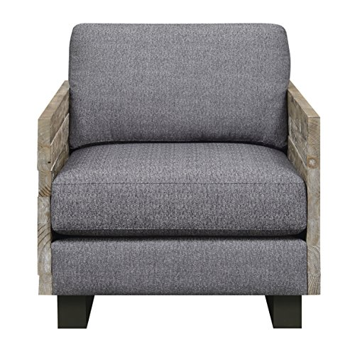 Artum Hill UP8-552 Kensington Accent Chair, Slate Gray