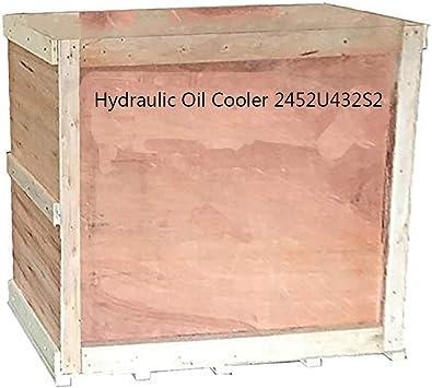 HIERTURB Hydraulic Oil Cooler 2452U432S2 for Kobelco SK300 SK300-2 SK300LC SK300LC-2 Excavator