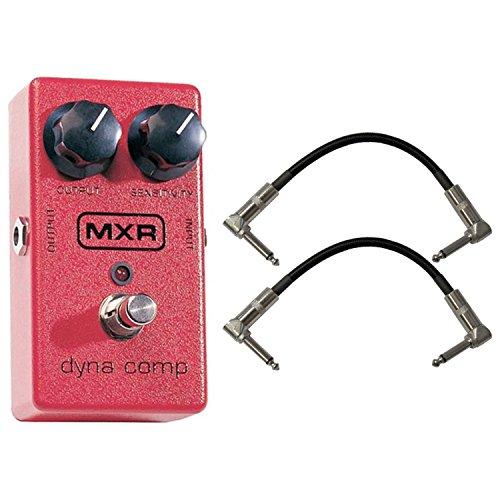 MXR M102 DYNA COMP Pedal Bundle w/(2) 6'' Patch Cables by MXR