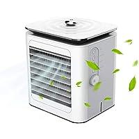 DALADA Taşınabilir mini hava soğutucu, masaüstü klima, 3'ü 1 arada masaüstü buharlı soğutucu, hava nemlendirici ve hava…