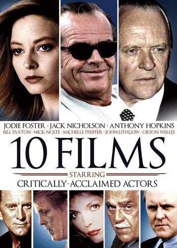 10-Film Critically Acclaimed Actors (Jack Nicholson Best Actor)