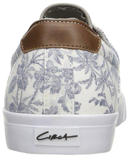 C1RCA Alto, Scarpe da Ginnastica Unisex – Adulto White/Tropical