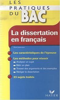 La dissertation en français par Aude Lemeunier