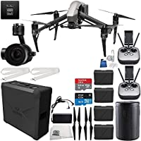 DJI Inspire 2 Premium Combo with Zenmuse X5S and CinemaDNG and Apple ProRes Licenses Filmmaker Ultimate Bundle