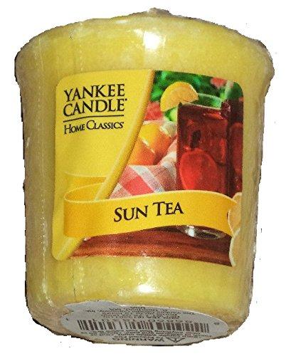 Yankee Candle Home Classics SUN TEA Sampler Votive Candle 1.75 oz