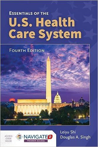 Book Essentials of the U.S. Health Care System