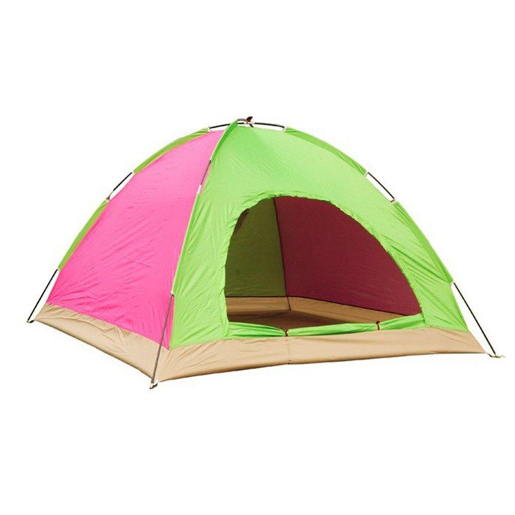 XINGQIANRU Outdoor-Tourismus und Freizeit Zelt 3-4 Personen Zelt Multi-Person Single-Layer-Single-Tür Camping Zelt (200  200  135CM)