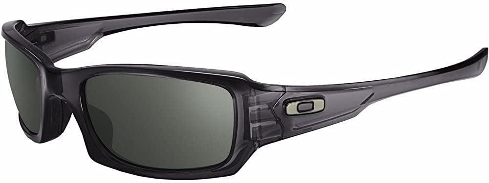 Oakley Men s OO9079 Fives Squared Rectangular Sunglasses