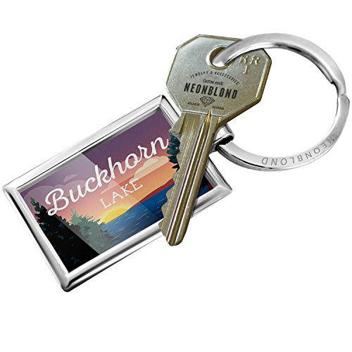 (NEONBLOND Keychain Lake Retro Design Buckhorn)