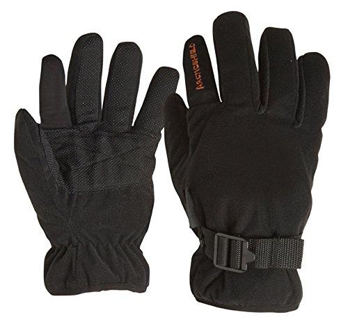 Arctic Shield Camp Gloves - Black - Large