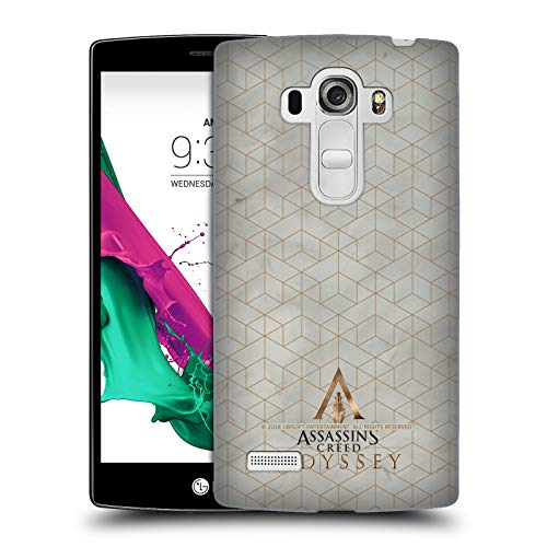 Price comparison product image Official Assassin's Creed Gold and Marble Odyssey Patterns Hard Back Case for LG G4 Beat / G4s / G4 s / H735