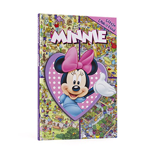Find Girl Online (Disney Minnie Mouse - Little Look and Find Activity Book - PI)