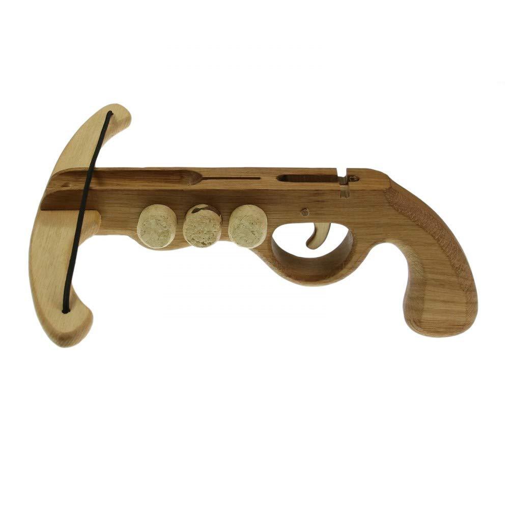 Kinderarmbrust Holzarmbrus Spielzeugarmbrust Holzkö nig Korkenarmbrust klein Holzkönig