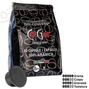 10 capsule Caffè miscela 100% Arabica compatibili DOLCE GUSTO* Caffè Gioia