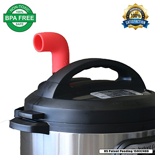InstaPot Steam Diverter Release Accessory | Helps Protect Cabinets | High Grade Food Silicone | BPA Free | Fits Instant Pot DUO & Smart Models Only