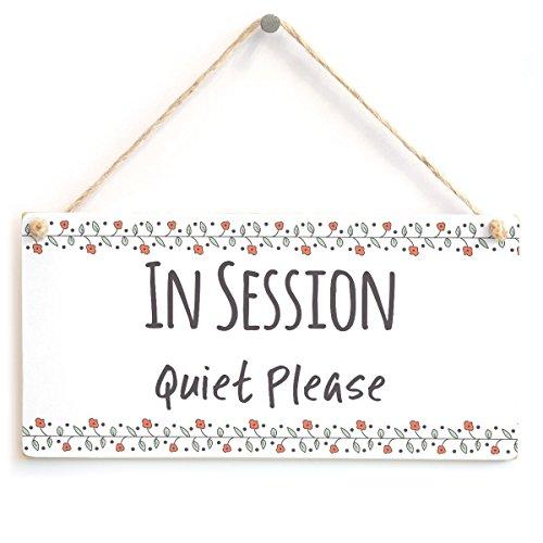 Meijiafei in Session Quiet Please - Functional Do Not Disturb Home Office Door Plaque 10