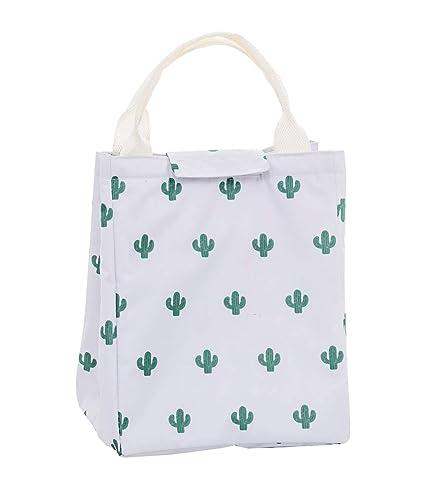 f60e8e6f0023 Amazon.com: Blansdi Insulated Lunch Bags Printed Waterproof Food ...