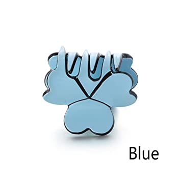 Blue 1pc Hair Claw Hair Clip Acrylic Hair Accessory
