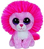 Ty - Ty36132 - Peluche - Beanie Boo's - Fluffy Le Lion - 15 Cm