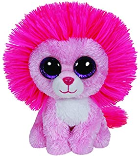 Ty Beanie Boos Fluffy - Pink Lion