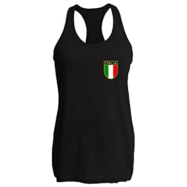 Amazon.com  Pop Threads Italy Soccer Retro National Team Tank Top ... 2cb1aec864