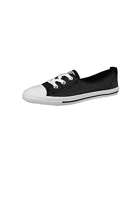 CONVERSE Damen Sneaker schwarz 41: : Schuhe