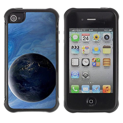 iPhone 4 / iPhone 4S , Gas Giant Planets Art View Universe Space Cosmos